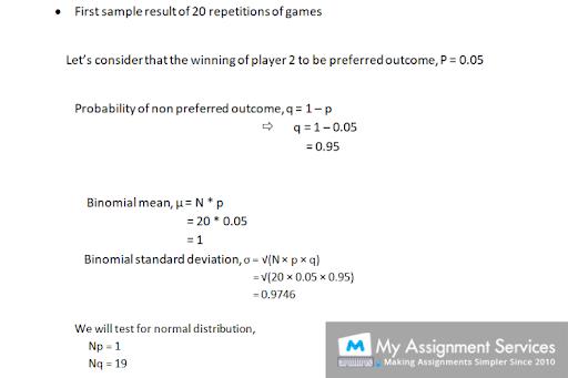Online Statistics Assignment Help