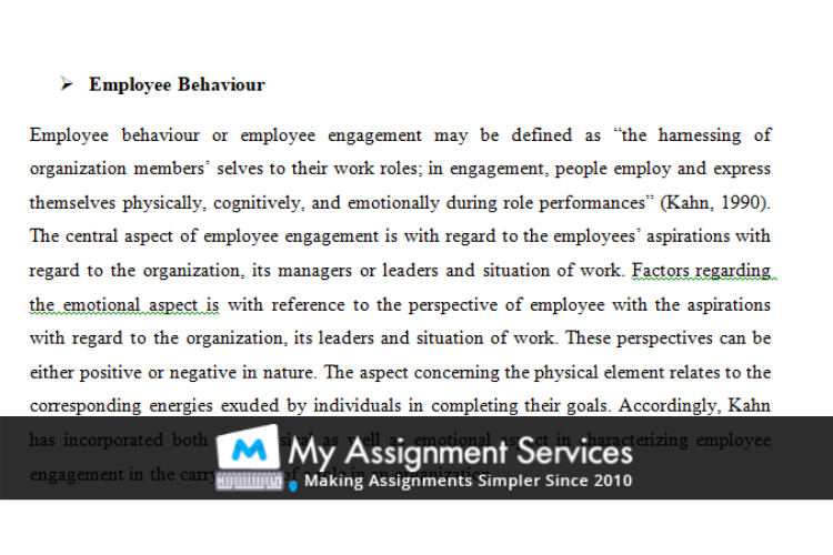 MBA assignment sample