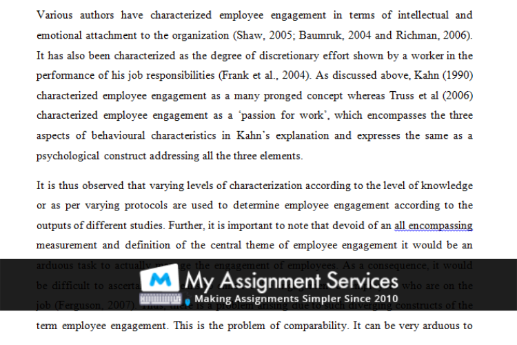 MBA assignment sample 2