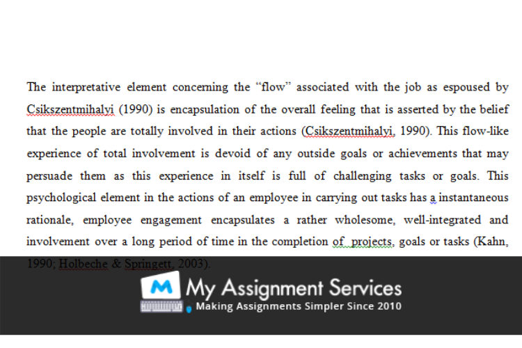 MBA assignment sample 4
