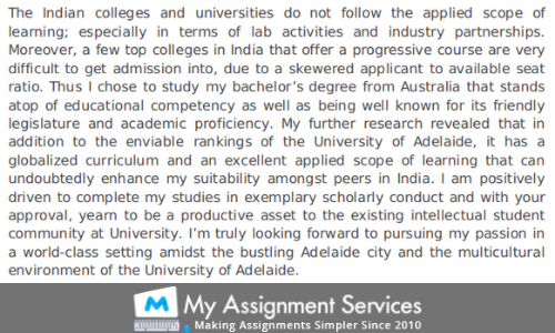 admission essay help sample