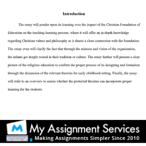 essay writing solved sample - introduction