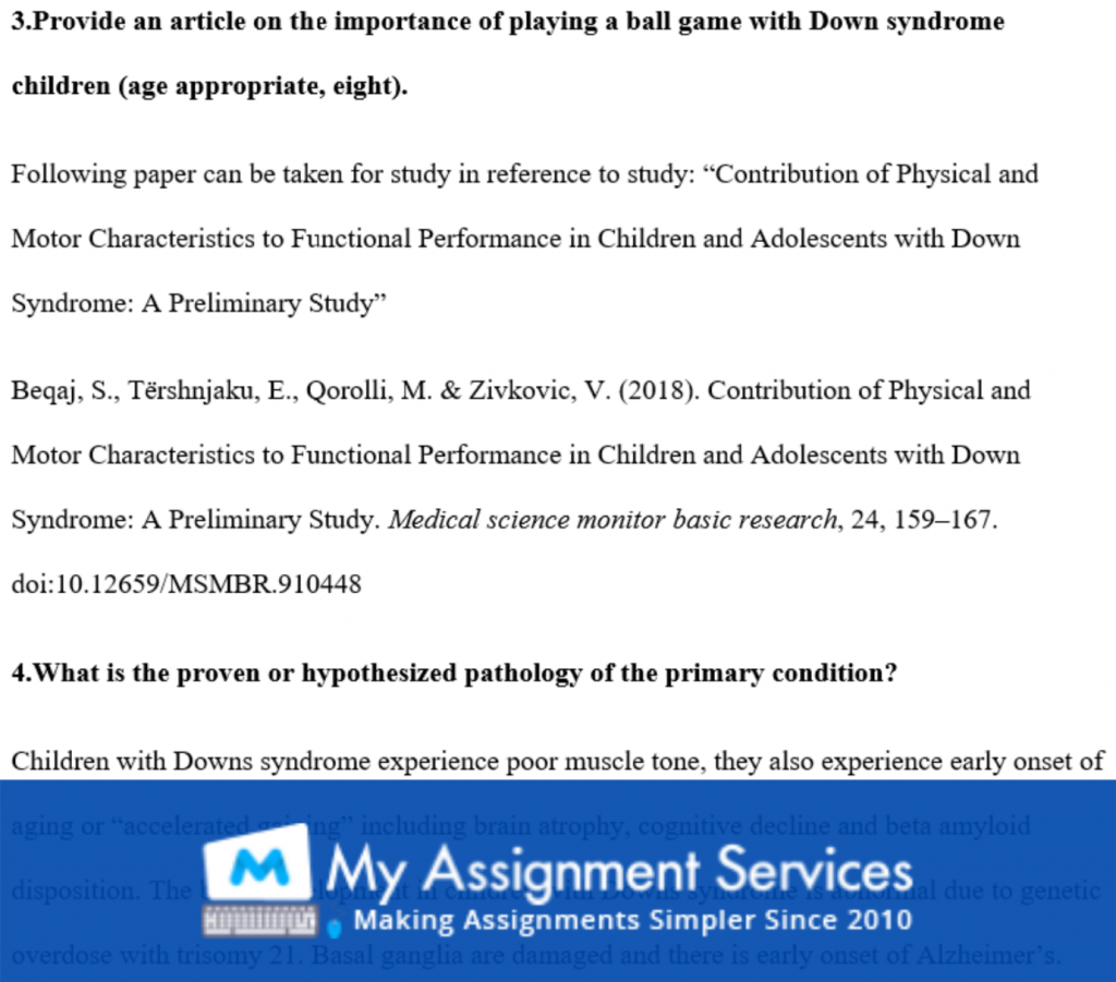 make my assignment - question sample 3