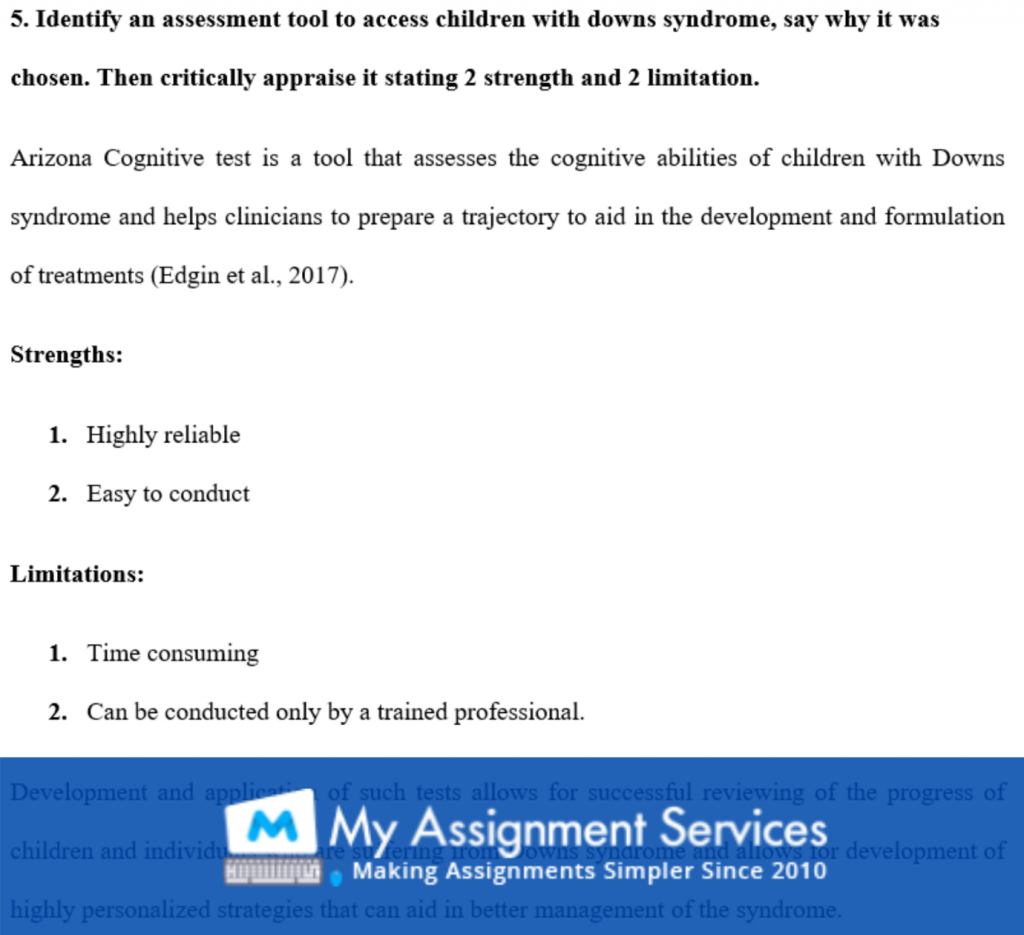 make my assignment - question sample 4