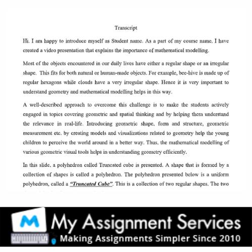 algebra assignment sample 2