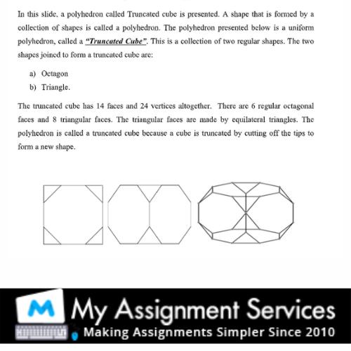 algebra assignment sample