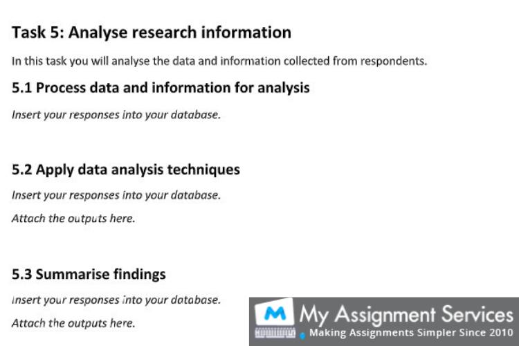 assignment help dubai - assessment sample 5