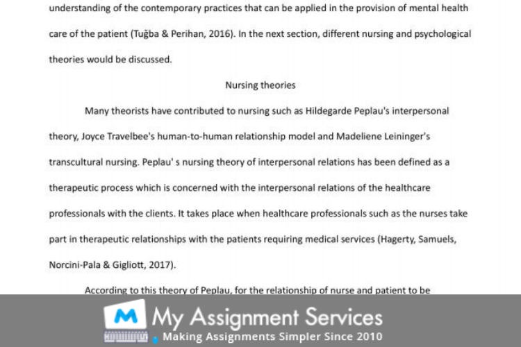 assignment sample 3 written by our expert