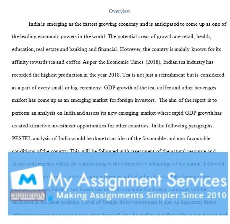 business assignment sample 2