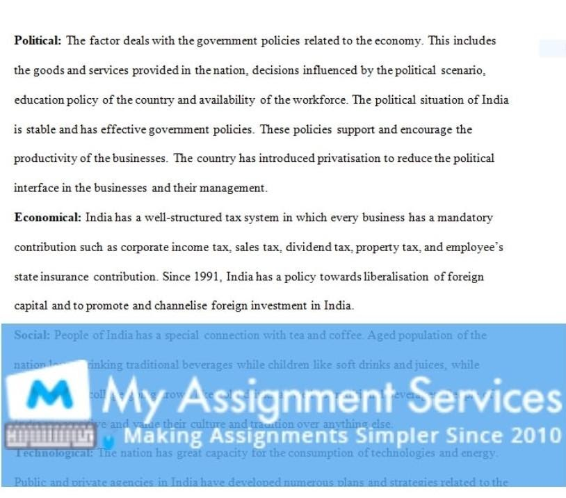 business assignment sample 3