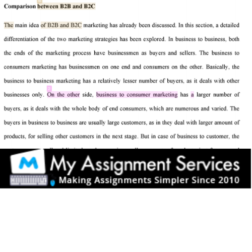 business essay writing sample 2