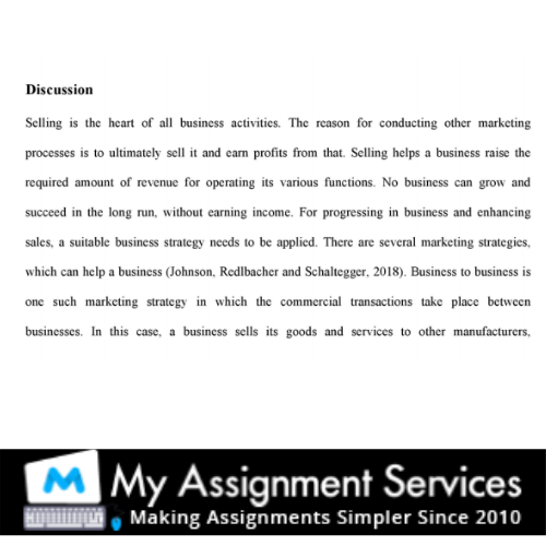 business essay writing sample 3