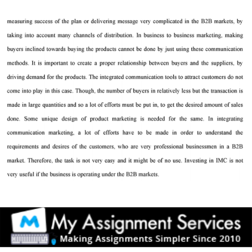 business essay writing sample