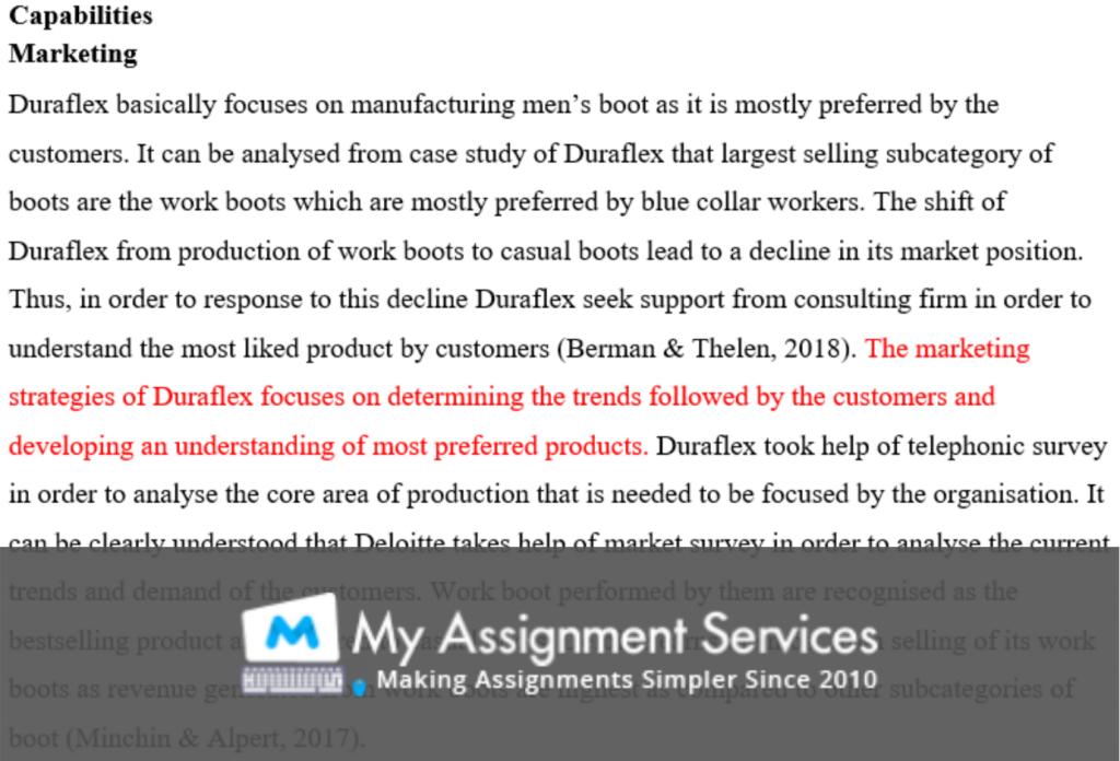 case study assessment sample 2