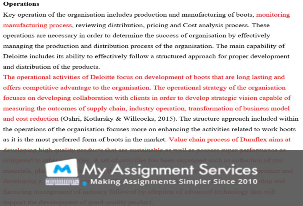 case study assessment sample 3