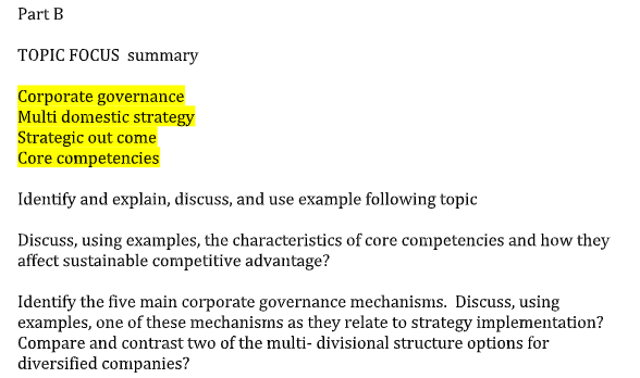 corporate finance assignment sample 2
