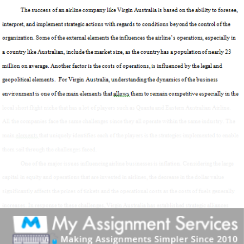 corporate finance assignment sample 3