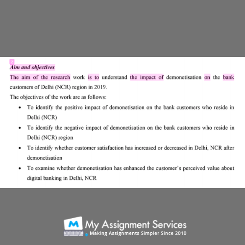 dissertation writer - assessment sample 3