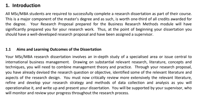 dissertation writer - assessment sample