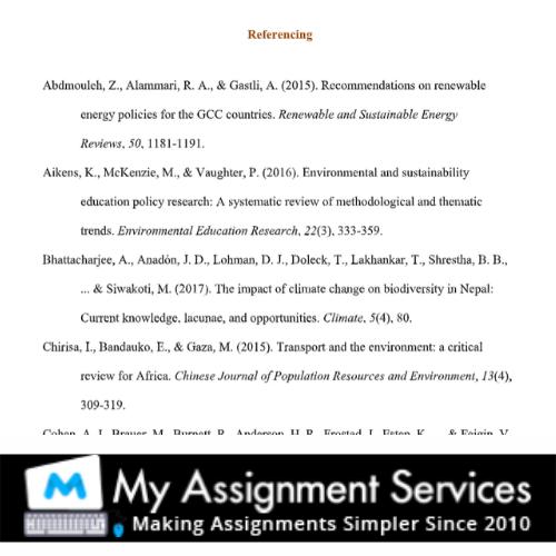 referencing - homework essay help