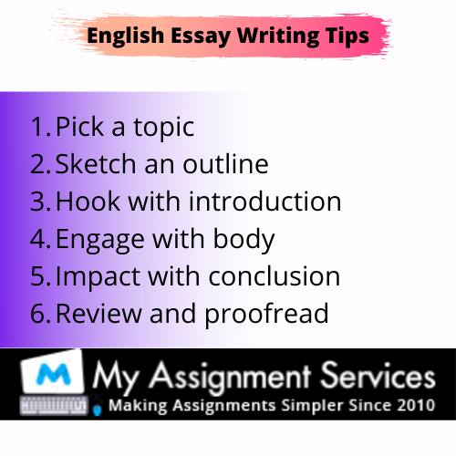 tips for english essay writing